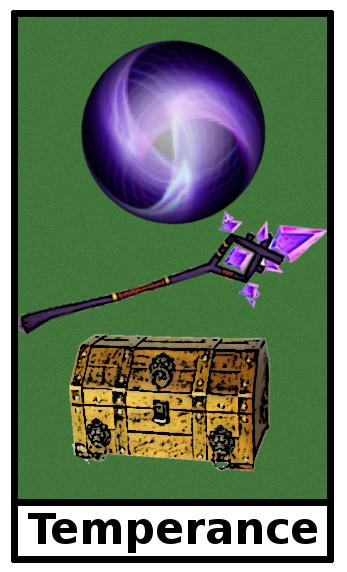 Sunzu Garden (Temperance Tarot card) a Tree of Life quest